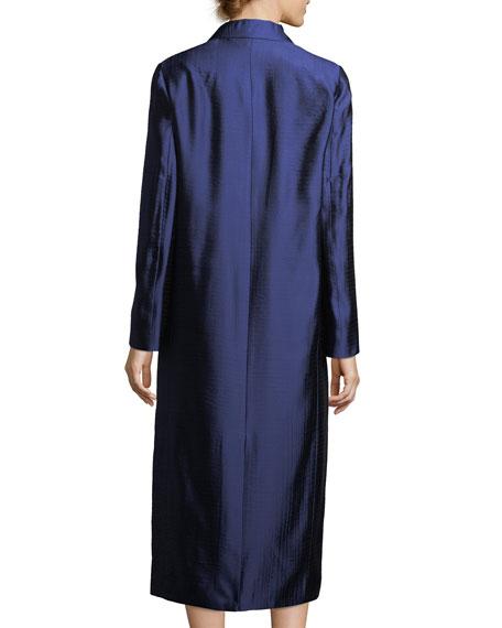 Muedi Long Jacquard Coat
