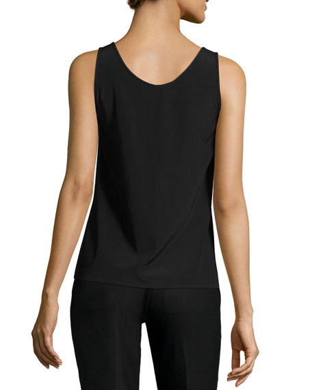 Fil Coupe Tank Top, Black