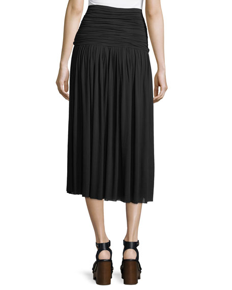 Molly Chiffon Midi Skirt