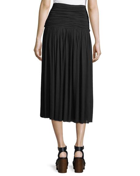 Molly Chiffon Midi Skirt