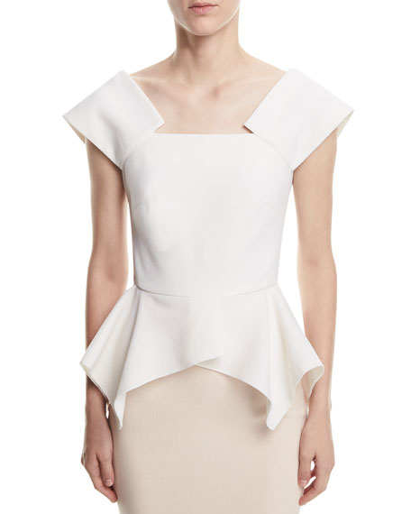 Merley Square-Neck Top