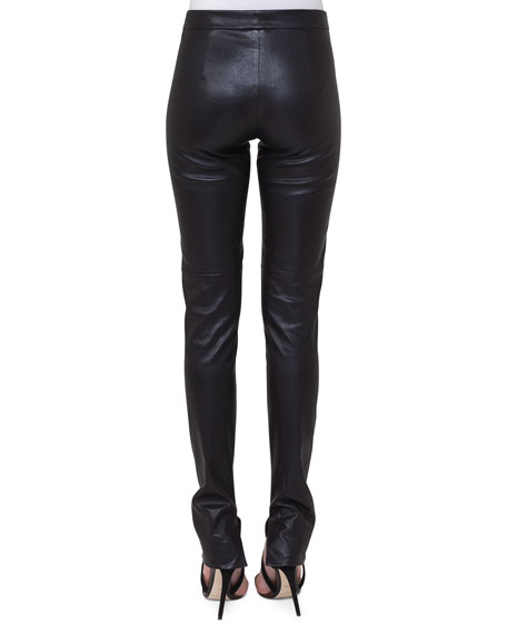Fria Napa Leather Skinny Pants