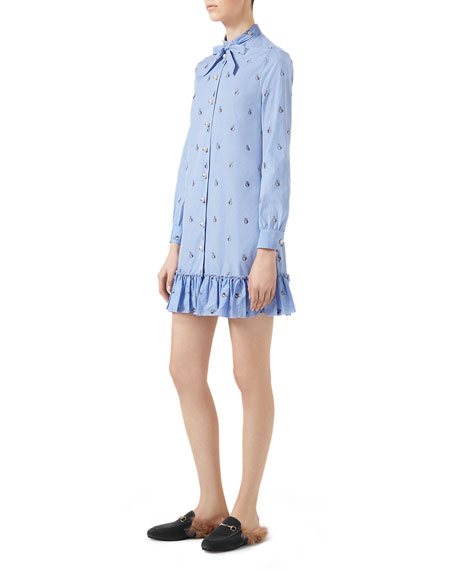 Rabbit Fil Coup&#233 Long Shirt, Light Blue
