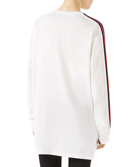 404f838bd Gucci Oversized T-Shirt with Panther