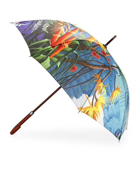 Adam Lippes x de Gournay Umbrella, Multi
