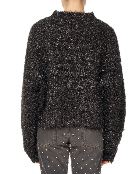 Ben Fuzzy Knit Pullover Sweater