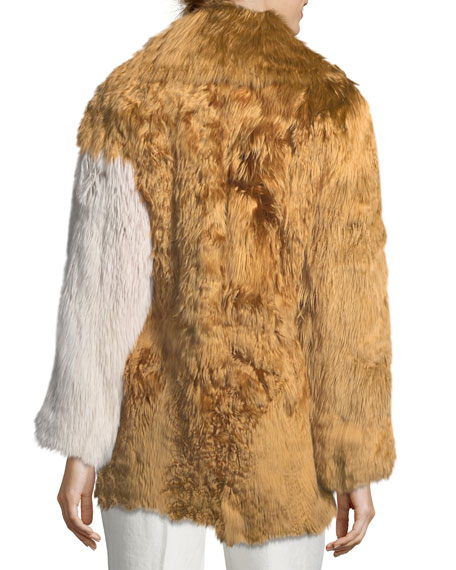 Alpaca Fur Coat