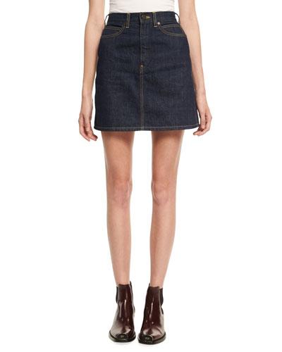 Brooke Denim Mini Skirt