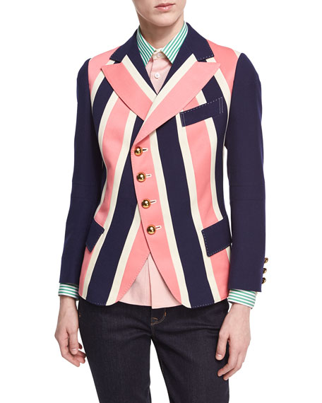 Regimental Striped Jacket
