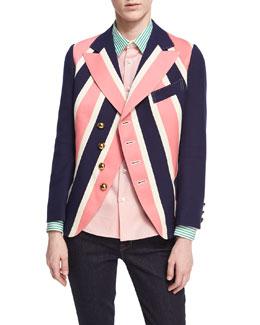 Regimental Striped Jacket
