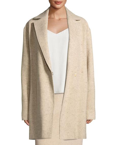 Monire Belted Wool-Blend Jacket