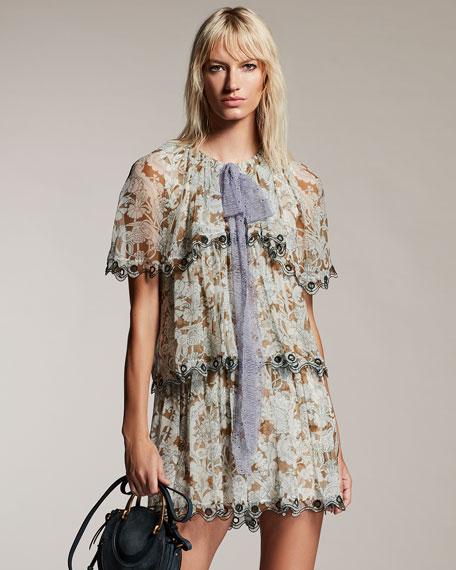 Layered Wonderland Organza Mini Dress