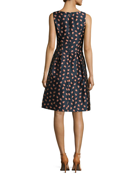 Betsy Floral-Embroidered Dress