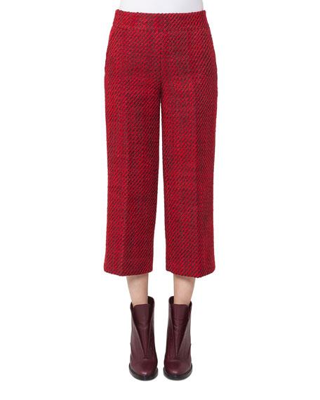 Miami Tweed Culotte Pants