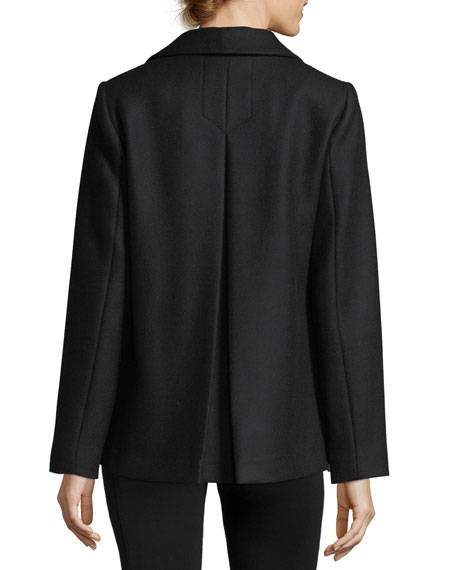 Lindas Double-Breasted Pea Coat