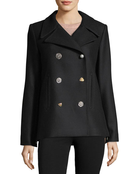 Lindas Double-Breasted Pea Coat