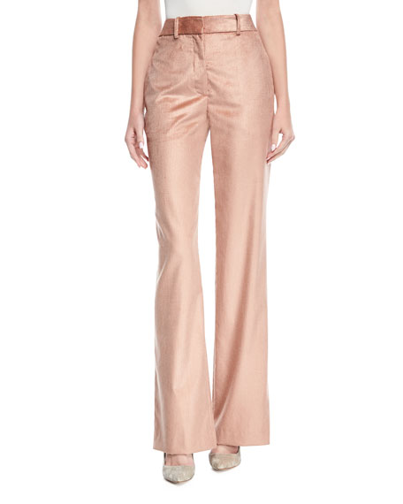 Relaxed Wide-Leg Trousers