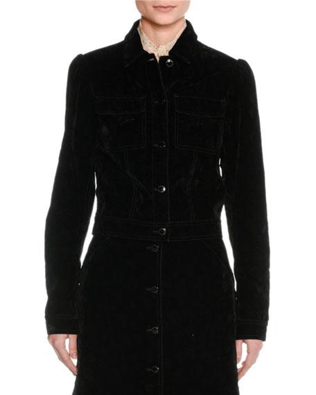 Stretch-Cotton Jacket