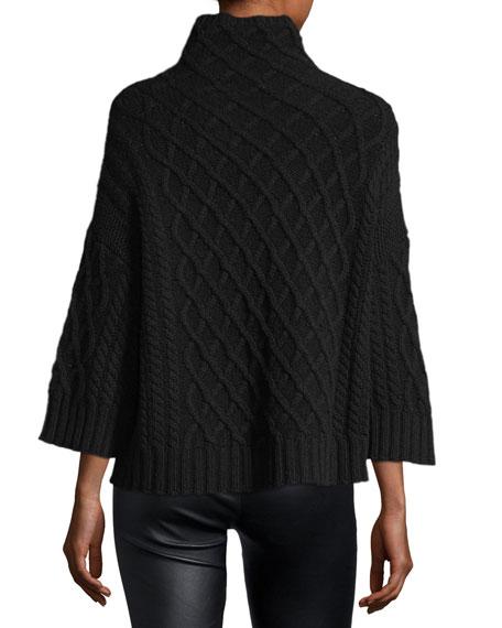 Knit Drop-Shoulder Pullover Sweater