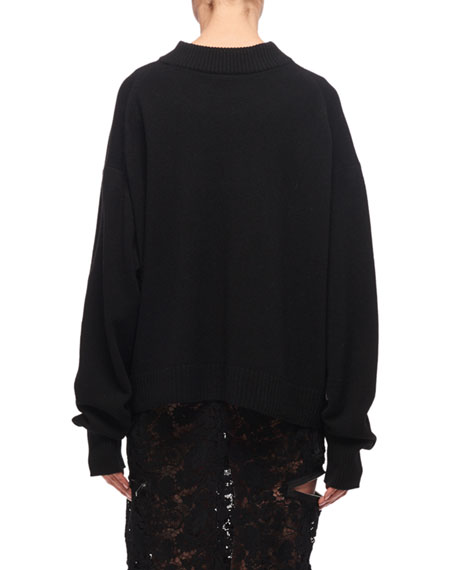 Day in the Life Embroidered Sweater
