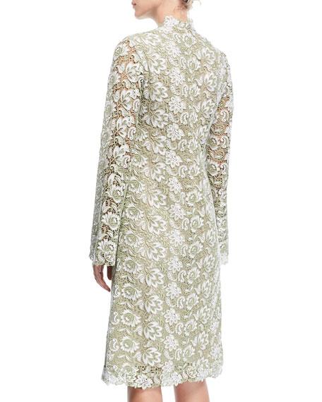Sochi Long-Sleeve Lace Dress