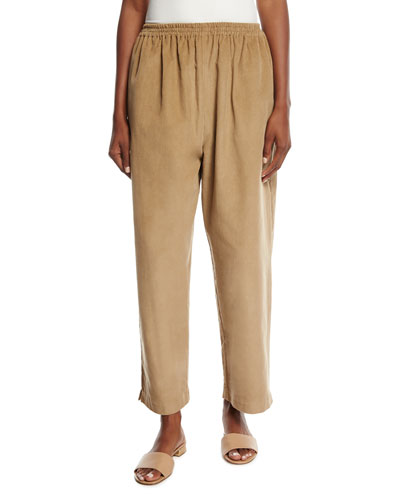 Cotton-Blend Japanese Trousers