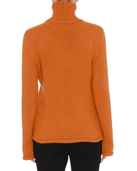 Knit Turtleneck Cashmere Sweater