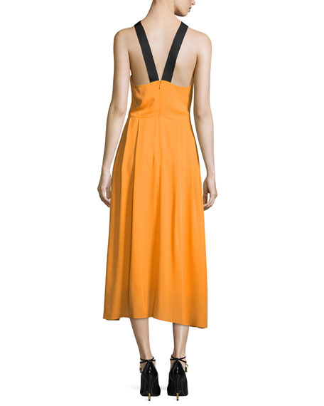 The Ellesmere Halter Dress