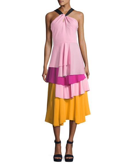 The York Layered Midi Skirt