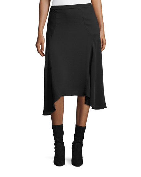 Asymmetric Stretch-Cady Skirt