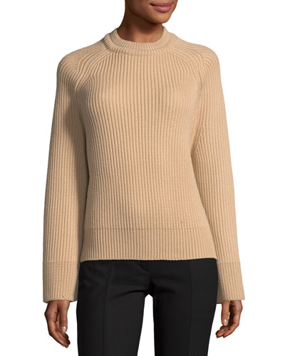 Chunky Knit Crewneck Sweater