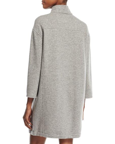 Jill Zip-Shoulder Popover Dress