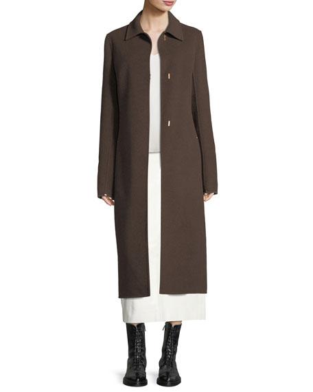 Framon Hook-Front Coat
