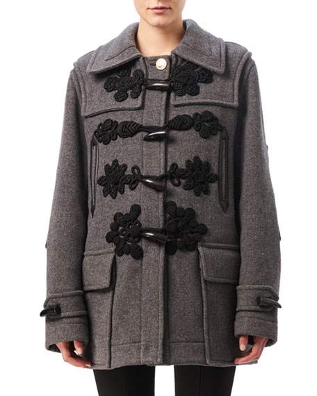 Morley Toggle-Front Coat