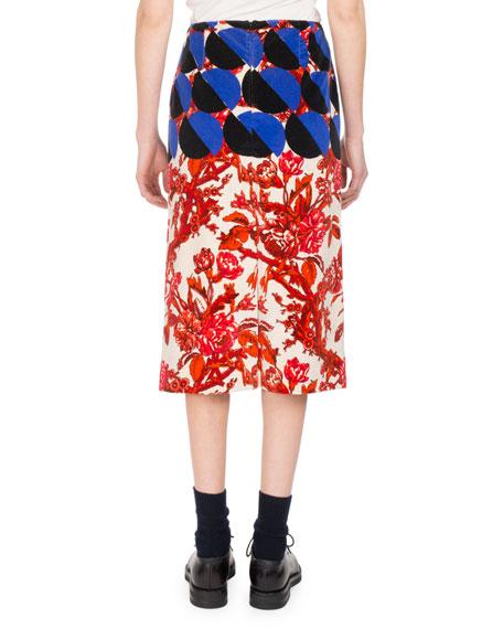 Scranton Floral Circle Skirt