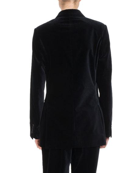 Badeni Velvet Tuxedo Blazer