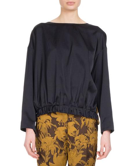Comden Velvet-Back Sweatshirt