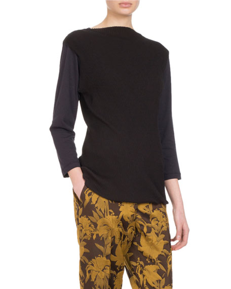 Hal Pain Boat-Neck Top