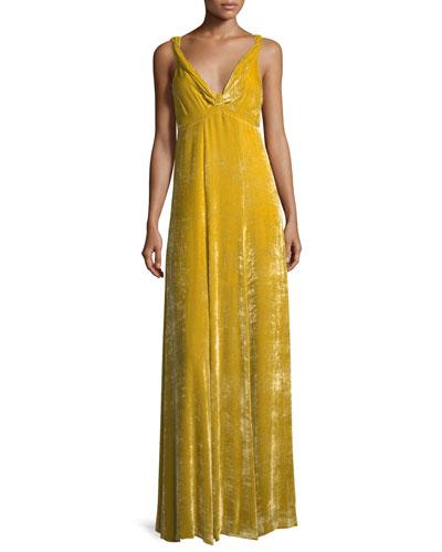 Daniels Velvet Cami Gown