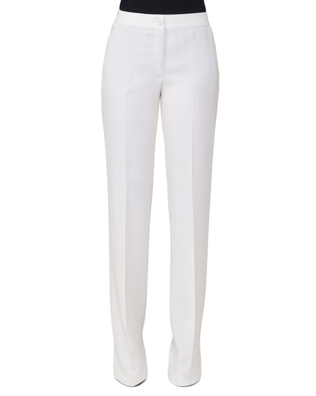 Akris Carla Straight-Leg Pants