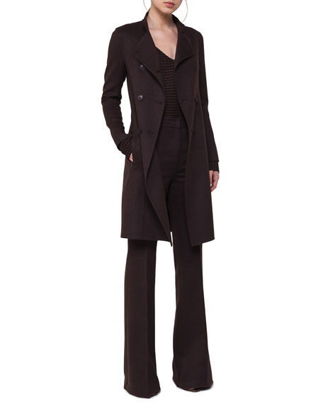 Marga Double-Breasted Wool Coat