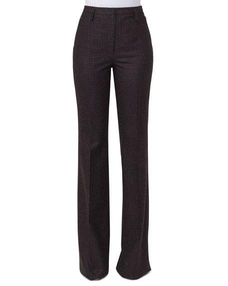 Farrah Check Flannel Pants