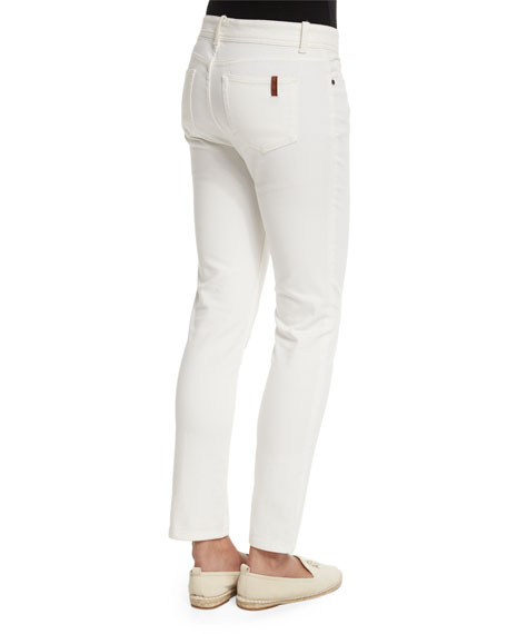Mathias Slim-Leg Ankle Jeans