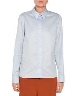 Classic Long-Sleeve Blouse