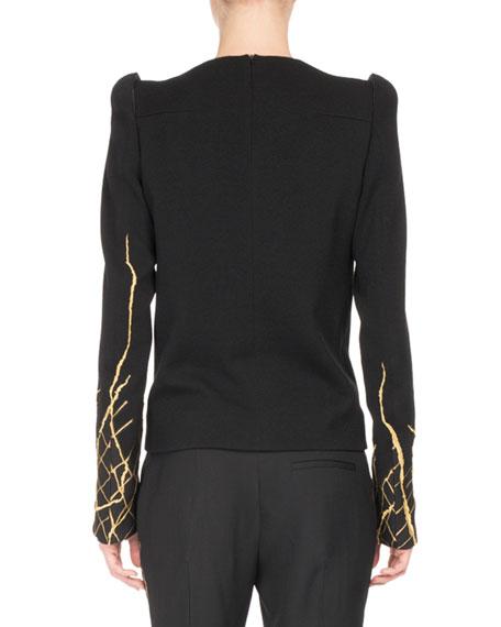 Goldstreak Long-Sleeve Top