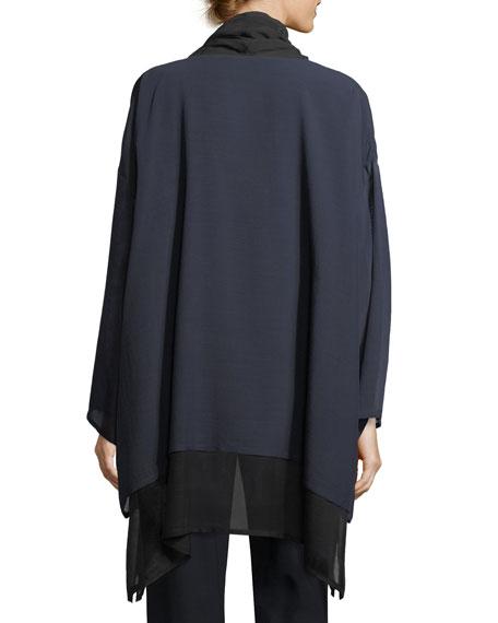 A-Line Cowl-Neck Top