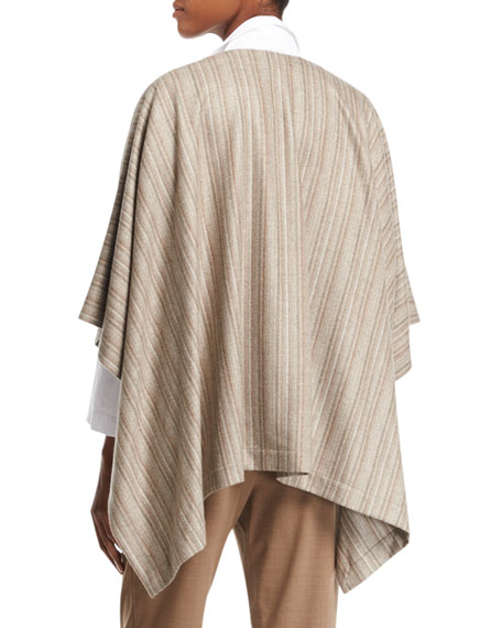 Striped Cashmere Tabard