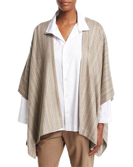 Striped Cashmere Tabard