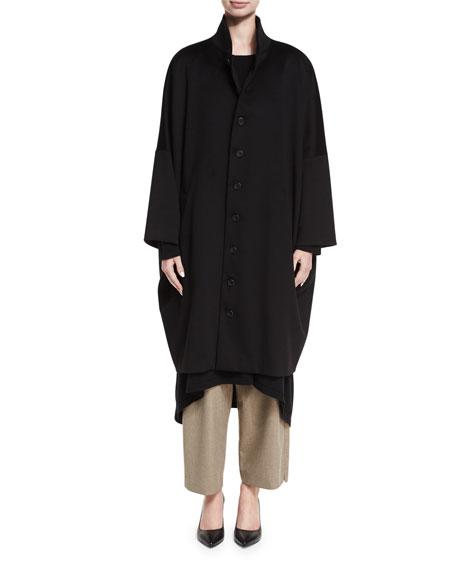 Long Slope-Shoulder Coat