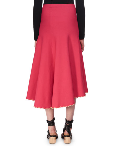 Bandage Knit Midi Skirt